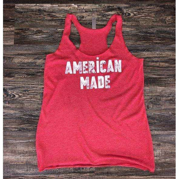 American Made Tank - Vintage Red