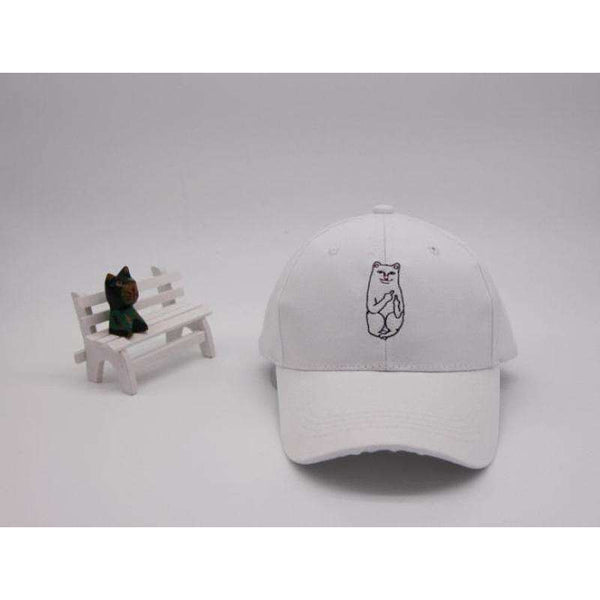 American RIP DIP Finger Cat Embroidery Baseball Caps Men Women Fashion Cotton Hip-Hop Hat