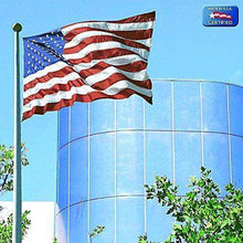 Annin Flagmakers Model 2740 American Flag 6x10 ft. Tough-Tex the Strongest, Longest Lasting Flag, 100% Made in USA with Sewn Stripes, Embroidered Stars and Brass Grommets.