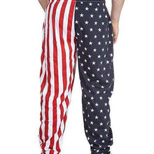 Arvilhill July 4th Men's America Flag Casual Pants