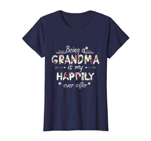 Being A Grandma Is My Happily Ever After Parents Day T-Shirt