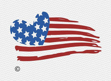 Distressed american flag svg, Heart svg, 4th of july svg, Kids svg, Usa flag svg, Patriotic svg, Fourth of july svg, Svg, DXF, Png, Eps