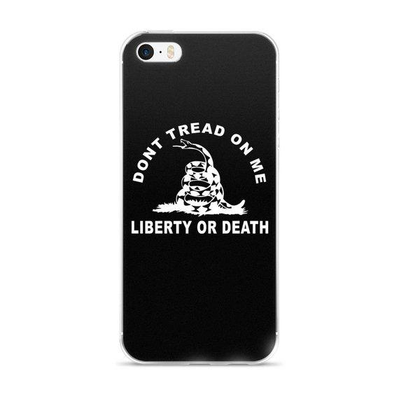 Dont Tread On Me Liberty Or Death iPhone 7 Case, iPhone 7/7plus, iPhone 6/6 Plus, iPhone 5