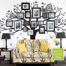 Family Tree Wall Decal by Simple Shapes (Chestnut Brown, Standard Size: 107 x 90-Inch)