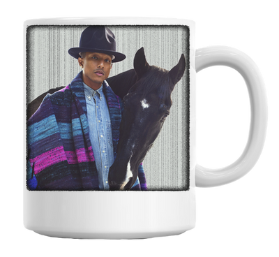 Famous American Singer With Horse Mug