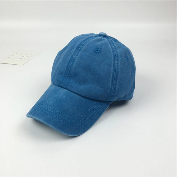 Fashion Washed Dyed Cotton Twill Low Profile Adjustable Baseball Cap