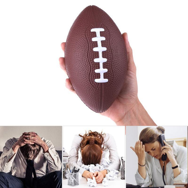 Football & Rugby Soft Standard PU Foam American Football Soccer ball Rugby Squeeze Ball Kids Adults bola de futebol americano