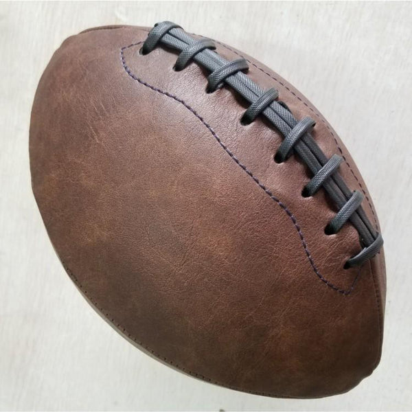 Free shipping Outdoor Sport Rugby Ball American Football Ball Vintage PU Size 9 For College Teenagers Training /decoration
