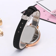 GENVIVIA Women Watches Elegant Thin American Flag Partten Bracelet Mesh Band Wristwatch Quartz Clock Relogio Feminino Montre