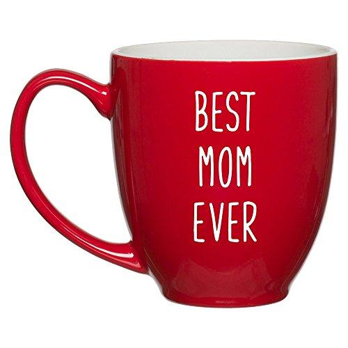 Great Job Mom I Turned Out Awesome Mug - Funny Coffee Gift Mugs for Mother's Day, Birthday or Christmas from Son or Daughter, Kids, Husband - 11 oz White Ceramic Cup for Tea - Silly Gag Present