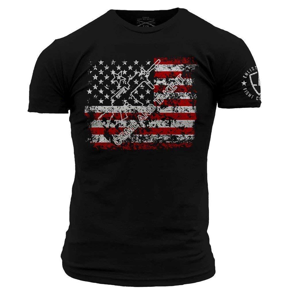 Grunt Style Enlisted 9 Come and Take It Men's T-Shirt