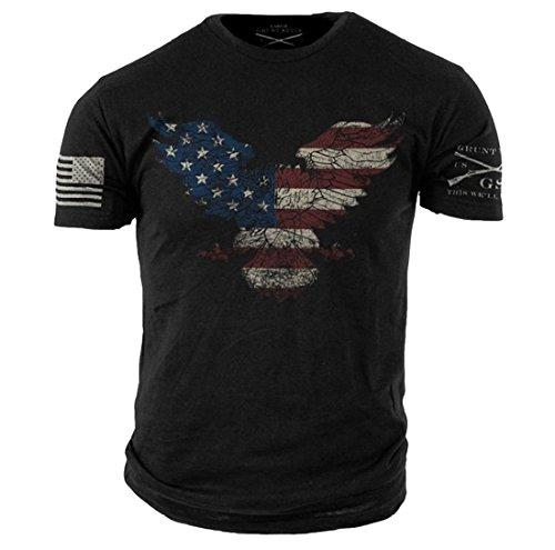 Grunt Style Freedom Eagle Men's T-Shirt
