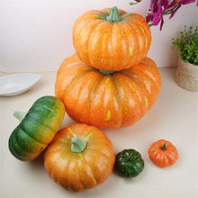 Halloween Decoration Simulation Pumpkin Party Ornament Pumpkin Props Model 20cm 25cm Halloween Supplies CKI16