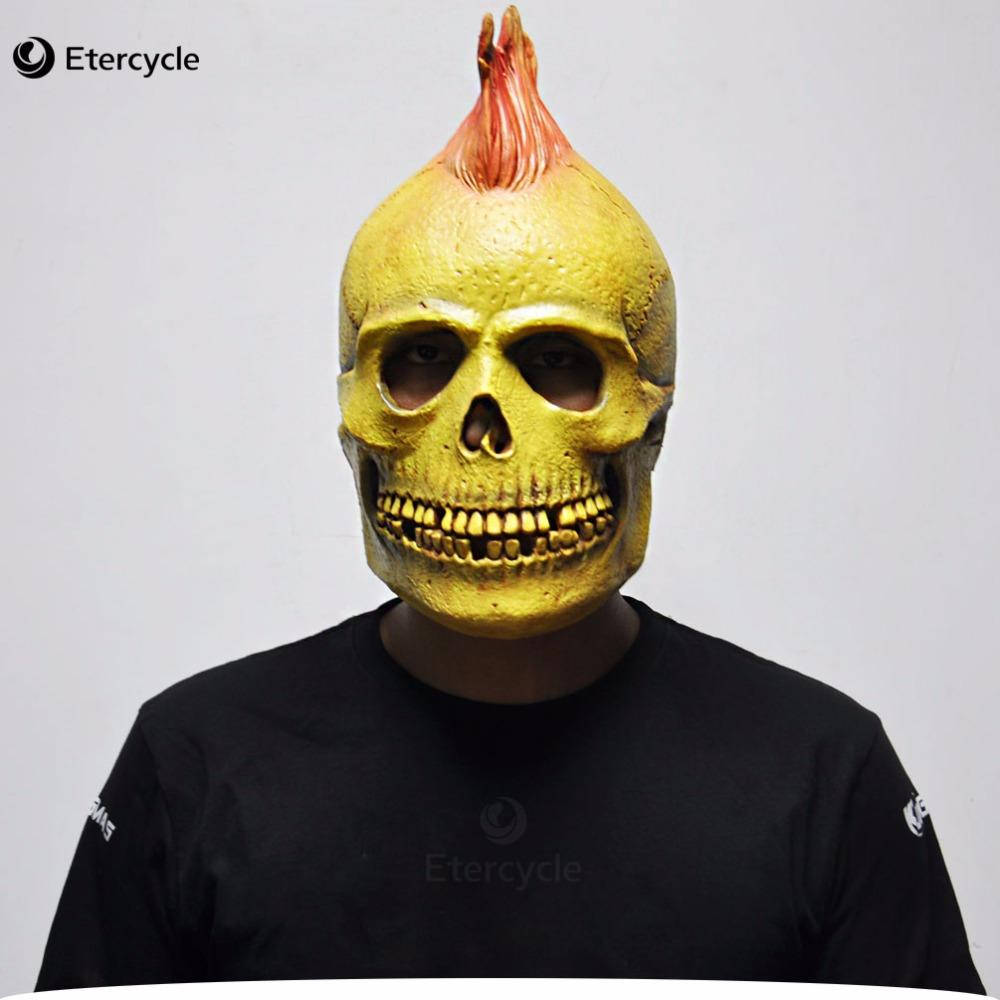 Halloween Masks Scary Skull Ghost Masks Adult Full Head Party Mask Masquerade Cosplay Toy Gift