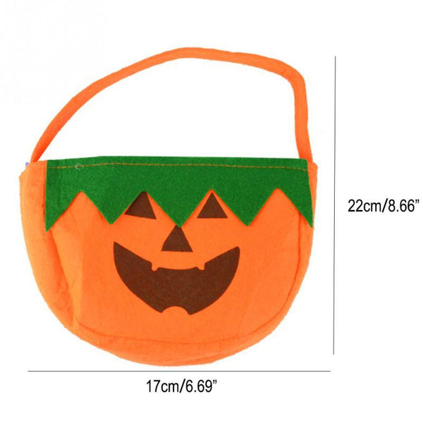 Halloween Sacks Halloween Bag Pumpkin Trick Or Treat Bags Nonwovens Party Decorations DIY Event Party Supplies