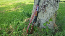 "Handmade 1"" Leather Rifle Sling, Leather Gun Sling, Adjustable Sling 28"" - 34"""