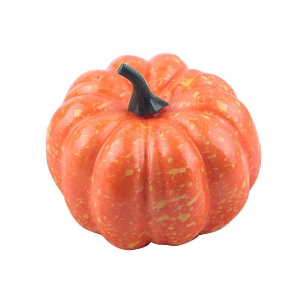 Hot Sales Mini Foam Pumpkin Halloween Decoration Small Simulation DIY Crafts Halloween Party Decoration Dia 8cm