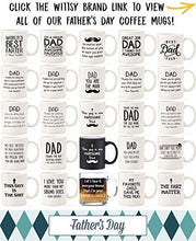 I'm Your Favorite Child Funny Glass Coffee Mug - Best Birthday Gifts For Mom or Dad - Mothers Day Gift Idea From Son, Daughter, Kids - Novelty Present For Parents - Unique Cup For Men, Women, Him, Her