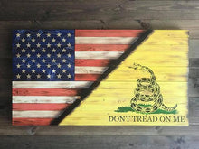 Large Concealment Flag - American Gadsden Flag