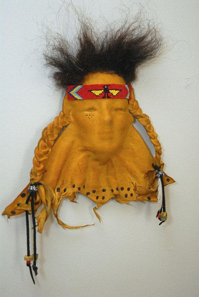 Leather Face - Leather mask - Thunderbird Warrior