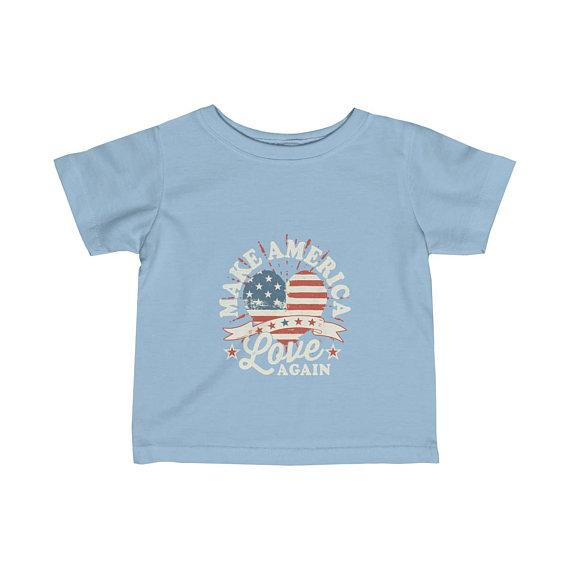 Make America Love Again Infant Jersey Tee