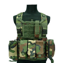 MEGE Military Tactical Vest Police Paintball Wargame Wear MOLLE Body Armor Hunting Vest CS Outdoor Products Equipment Black, Tan