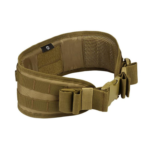 Men Army Military Camouflage MOLLE Girdle Tactical Outer Waist Belt Padded CS Belt Multi-Use Equipment Airsoft Wide Belts
