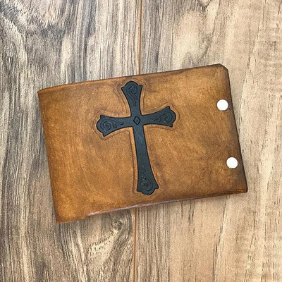 Mens Leather Wallet, Mens Wallet, Military Wallet, Military Gift, No Sew Leather Wallet, Mens Christian Wallet, Personalized Leather Wallet