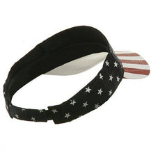 MG USA Flag Visor-USA Star Stripe W40S44B