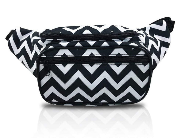 nineteen80something Neon Fanny Packs/Waist Bags In Multiple Colors and Patterns/For Women, Men, Girls and Boys