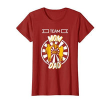Parents Day - Team Mom and Dad Family Tee Shirt