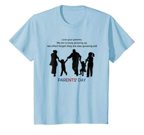 parents' day t-shirt to show love & respect