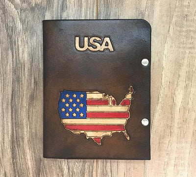 Passport Cover, Passport Holder, Leather Passport Cover, Passport Wallet, Mens Wallet, Mens Leather Wallet, Mens Gift, Handmade Passport
