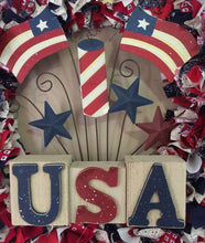 Patriotic wreath, USA wreath