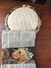PotHolder Set (Two potholders and one towel) - DOGS