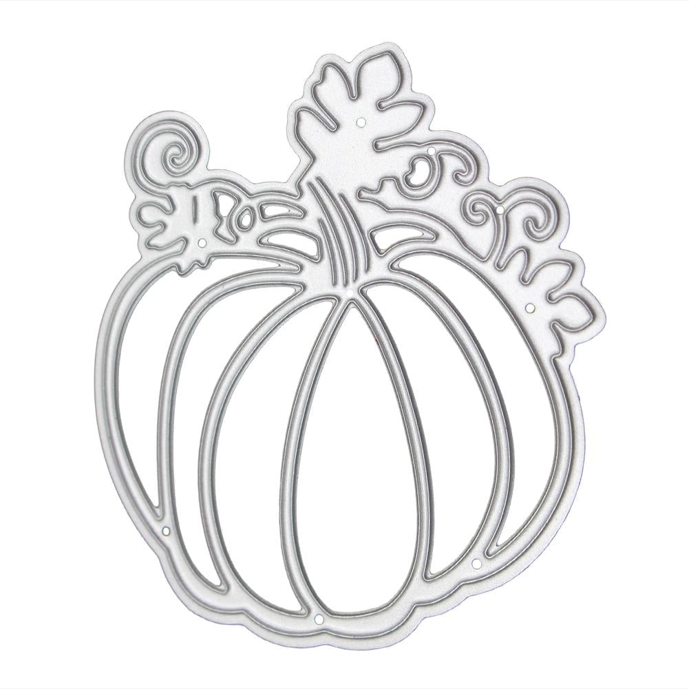 Pumpkin Pattern Halloween Metal Cutting Die Stencil DIY Scrapbooking Dies Metal Paper Cards Album Craft Dies Embossing Folder