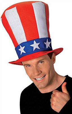 Rubie's Costume Co Men's Uncle Sam Stovepipe Hat