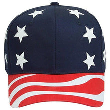 Shop4Ever USA American Flag Hat ~ 4th of July ~ Patriotic Cap