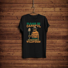 Smokey Bear Shirt, Hiking Smokey Bear Prevents Fires T-Shirt, Camping Shirt, Prevent Fires, Camping Smokey Bear Tee, National Park Shirt