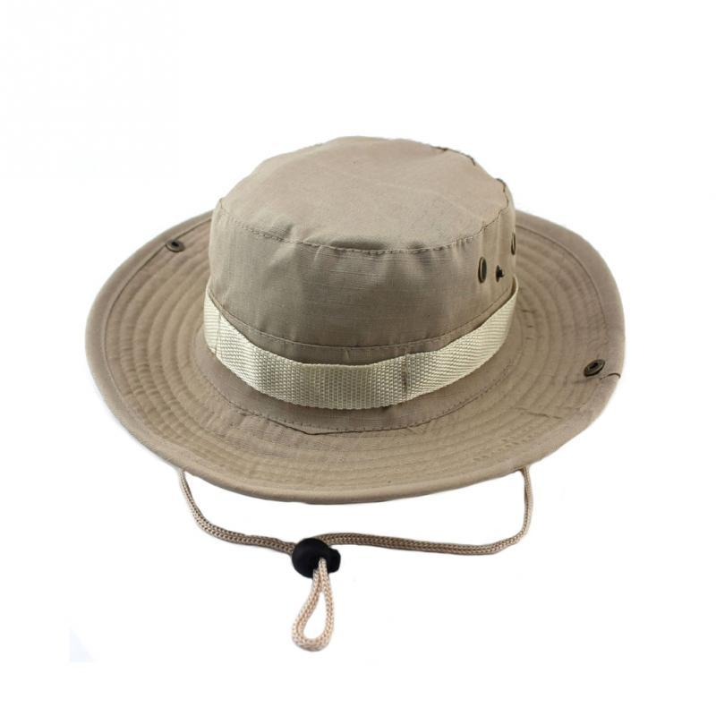 3a8cee20a341d ... Tactical Airsoft Sniper Camouflage Boonie Hats Nepalese Cap Military  Hats Army Mens Military Sunscreen Sombrero ...