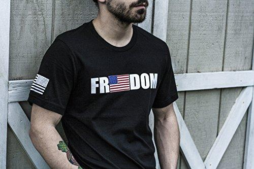 Tactical Pro Supply Freedom USA Flag Patriotic T-Shirt