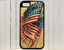 The American Flag depicted in a 100 year old Lithograph  iPhoneCases 4, 4S, 5, 5C 6, 6+, Samsung Galaxy 3, 4, 5, 6, Edge