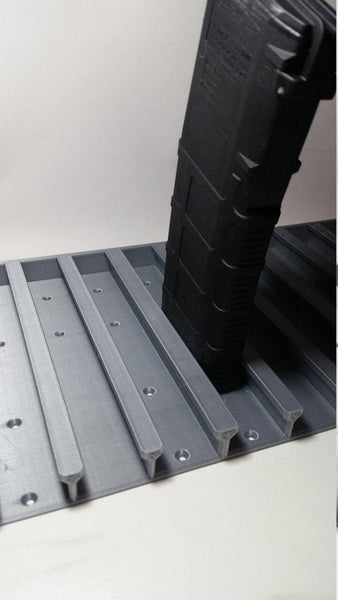 Three Mags Deep AR-15 Ultimate Magazine Storage Solution up to 33 MAGAZINES