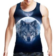 Uideazone Mens Tank Top Casual 3D Printed Patterns Graphics Tees