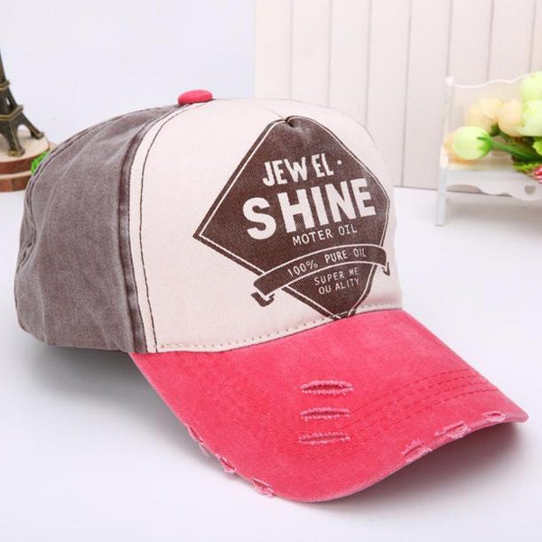 Unisex Cotton Twill Snapback Colorful Baseball cap