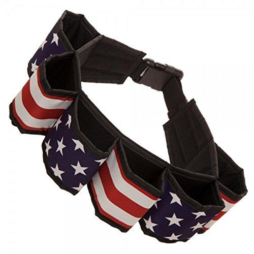 USA Flag Americana Beverage Utility Six Pack Belt