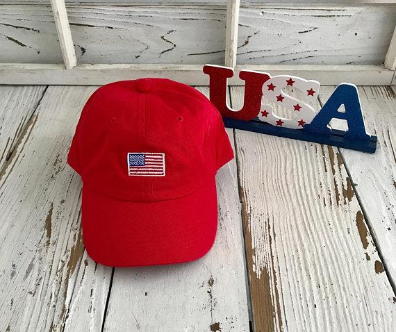 USA Flag Dad Hat | US FLAG Dad Hat, Independence Day, Fourth of July, Red White and Blue, American Cap, Memorial Day Dad Hat, Labor Day Hat