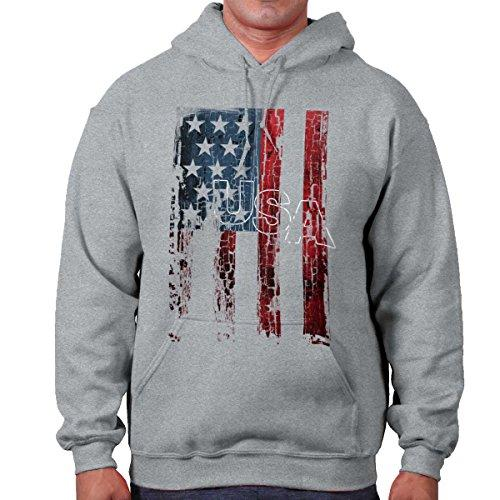 USA Flag Stars Stripes America United States Patriotic Pride Hoodie