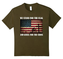 We Stand For The Flag And Kneel For The Cross T Shirt