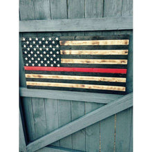 19x36 Thin red line Flag